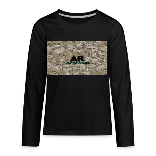 Alpha Ranger Apperal - Kids' Premium Long Sleeve T-Shirt