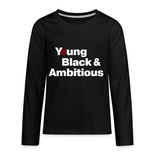 YBA Black Shirt2 - Kids' Premium Long Sleeve T-Shirt