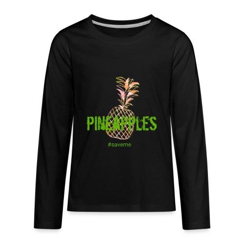 pineapples - Kids' Premium Long Sleeve T-Shirt