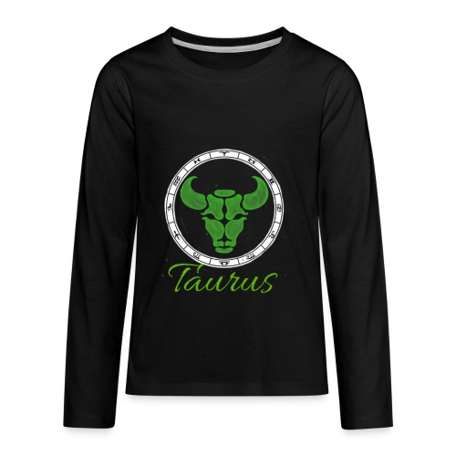 taurus - Kids' Premium Long Sleeve T-Shirt