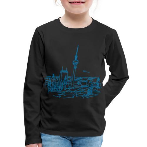 Panorama of Berlin - Kids' Premium Long Sleeve T-Shirt
