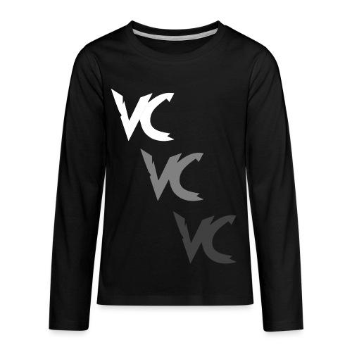 V3L0C1TY Logo Mugs & Drinkware - Kids' Premium Long Sleeve T-Shirt