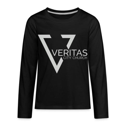 Veritas Logo - Kids' Premium Long Sleeve T-Shirt
