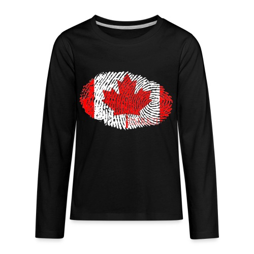 Canadian Identity - Kids' Premium Long Sleeve T-Shirt