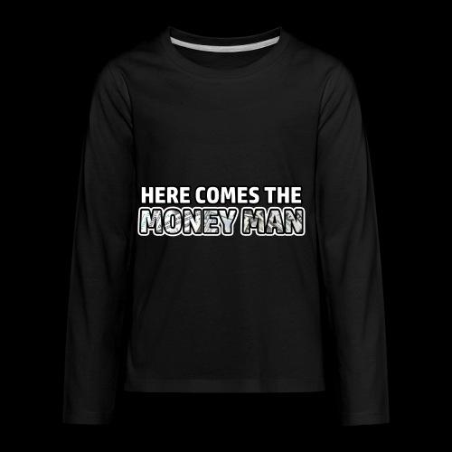 Here Comes The Money Man - Kids' Premium Long Sleeve T-Shirt