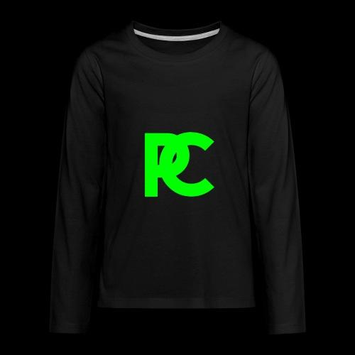 Patrick Calliza Green Logo - Kids' Premium Long Sleeve T-Shirt