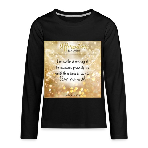 Abundance - Kids' Premium Long Sleeve T-Shirt