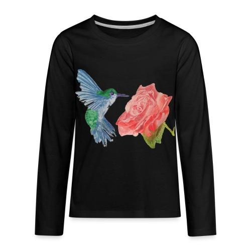 Hummingbird - Kids' Premium Long Sleeve T-Shirt