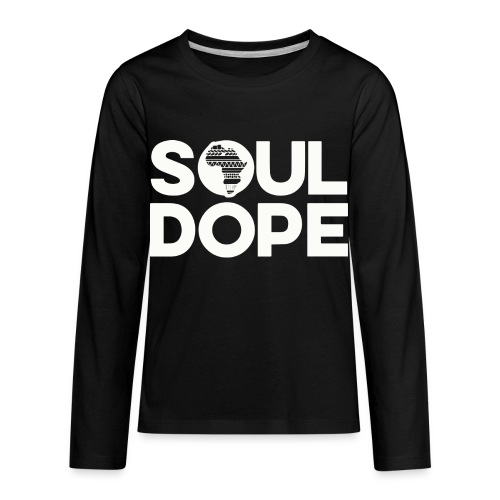 souldope white tee - Kids' Premium Long Sleeve T-Shirt