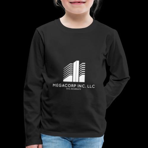 MEGACORP - GIANT EVUL CORPORATION - Kids' Premium Long Sleeve T-Shirt