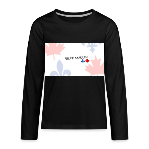 Logo do Canal - Kids' Premium Long Sleeve T-Shirt