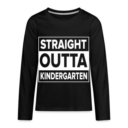 Kreative In Kinder Straight Outta - Kids' Premium Long Sleeve T-Shirt