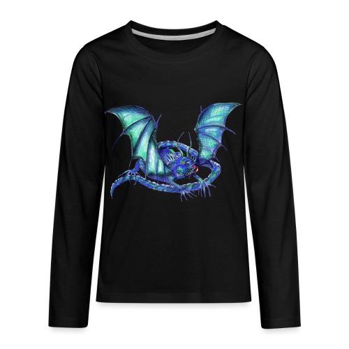 lizard dragon - Kids' Premium Long Sleeve T-Shirt