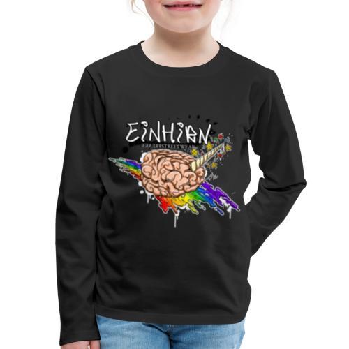 Einhirn - Kids' Premium Long Sleeve T-Shirt