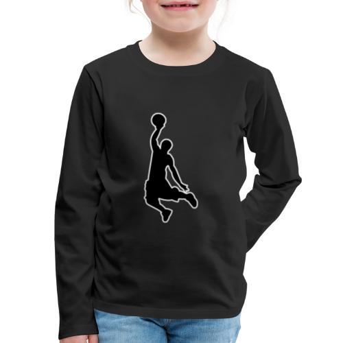 Basketball - Kids' Premium Long Sleeve T-Shirt