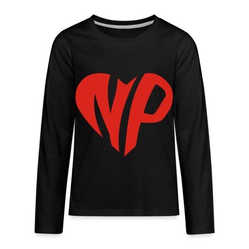 np heart - Kids' Premium Long Sleeve T-Shirt
