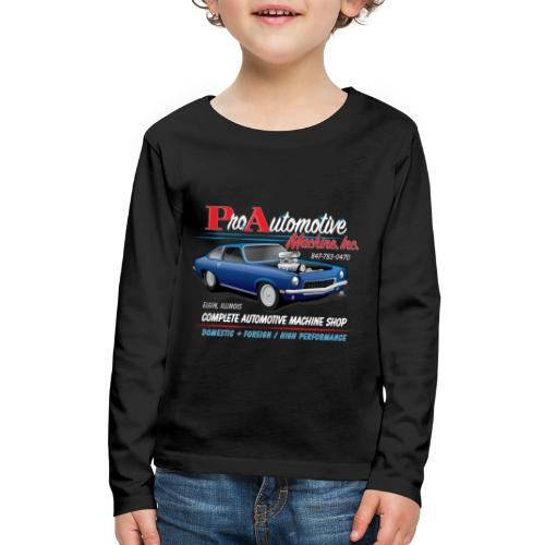 ProAutoTeeDesign062317fin - Kids' Premium Long Sleeve T-Shirt