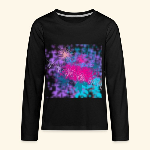 Abstract - Kids' Premium Long Sleeve T-Shirt