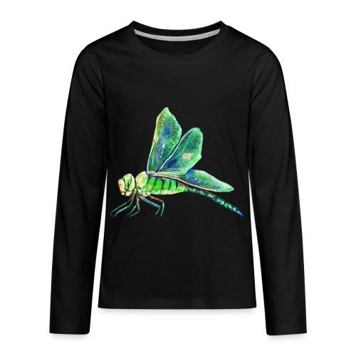 green dragonfly - Kids' Premium Long Sleeve T-Shirt