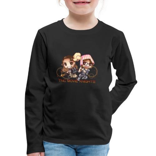 TNC Movie Knight - Kids' Premium Long Sleeve T-Shirt