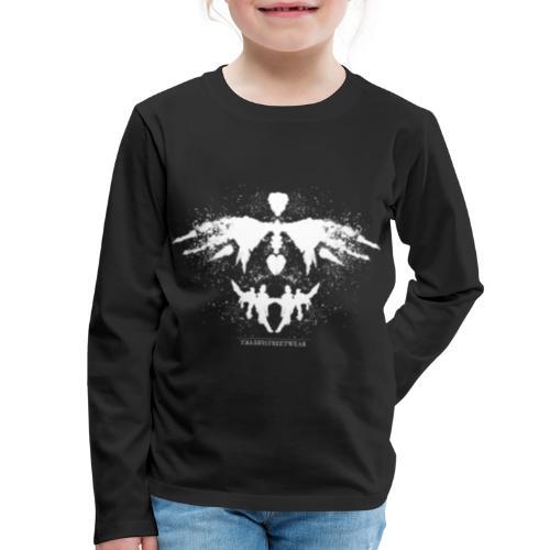 Rorschach_white - Kids' Premium Long Sleeve T-Shirt