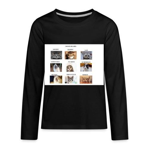 MOOD BOARD - Kids' Premium Long Sleeve T-Shirt