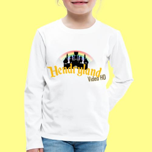 HENDRYLAND logo Merch - Kids' Premium Long Sleeve T-Shirt