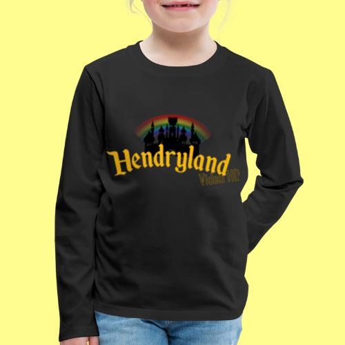 HENDRYLAND logo Merch - Kids' Premium Long Sleeve T-Shirt