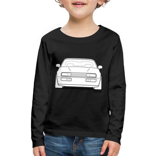 Wolfsburg Rado Outline - Kids' Premium Long Sleeve T-Shirt