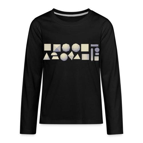Anyland shapes - Kids' Premium Long Sleeve T-Shirt