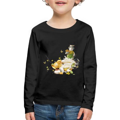 easter bunny easter egg holiday - Kids' Premium Long Sleeve T-Shirt