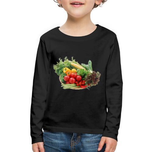 vegetable fruits - Kids' Premium Long Sleeve T-Shirt