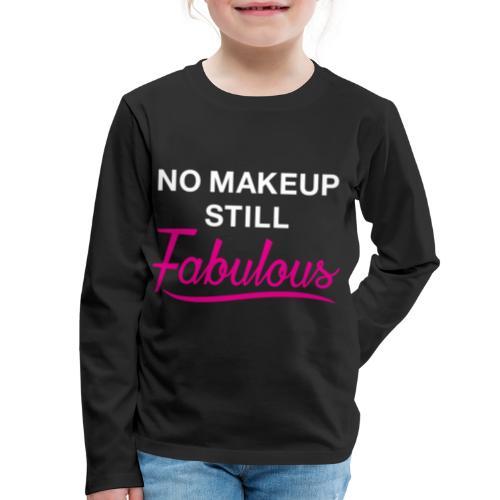 NoMakep png - Kids' Premium Long Sleeve T-Shirt