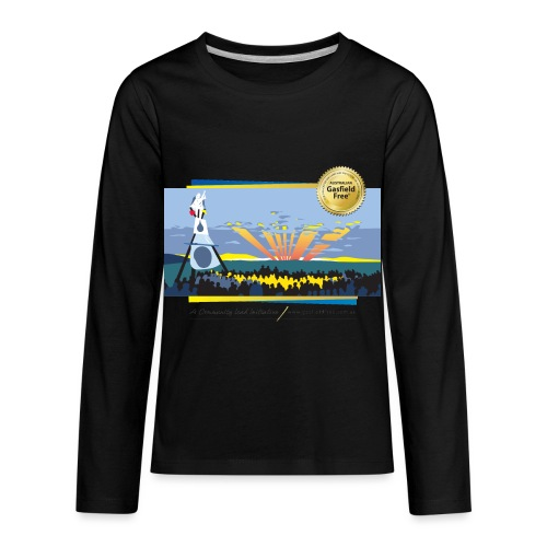 Bentley Blockade - Kids' Premium Long Sleeve T-Shirt
