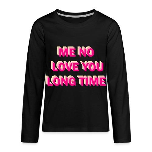 Full Metal Jacket shirt - Kids' Premium Long Sleeve T-Shirt