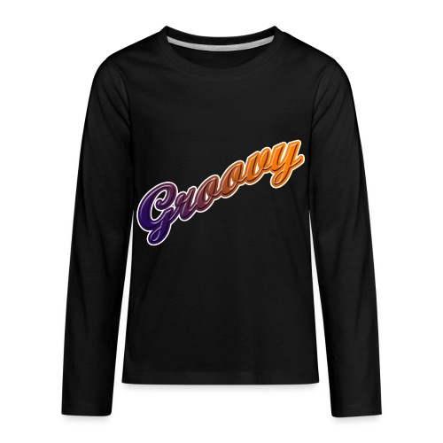 Groovy - Kids' Premium Long Sleeve T-Shirt
