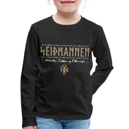 SEIÐMANNEN - Heathenry, Magic & Folktales - Kids' Premium Long Sleeve T-Shirt