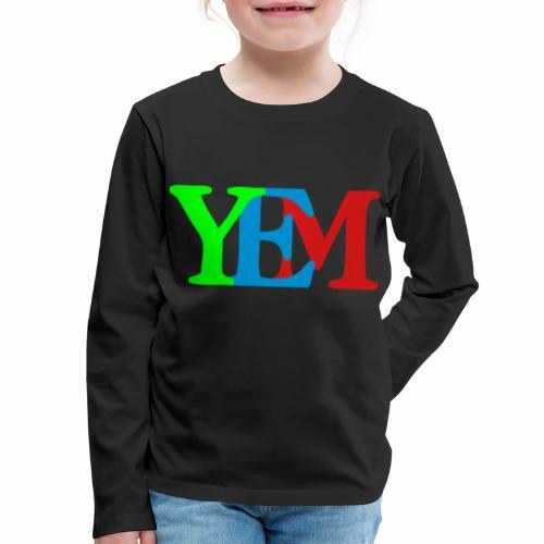 YEMpolo - Kids' Premium Long Sleeve T-Shirt