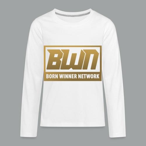 BWN (Gold) - Kids' Premium Long Sleeve T-Shirt