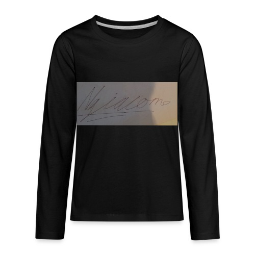 signature - Kids' Premium Long Sleeve T-Shirt