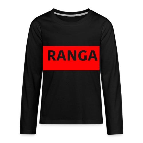 Ranga Red BAr - Kids' Premium Long Sleeve T-Shirt