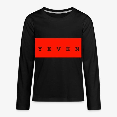 Yevenb - Kids' Premium Long Sleeve T-Shirt