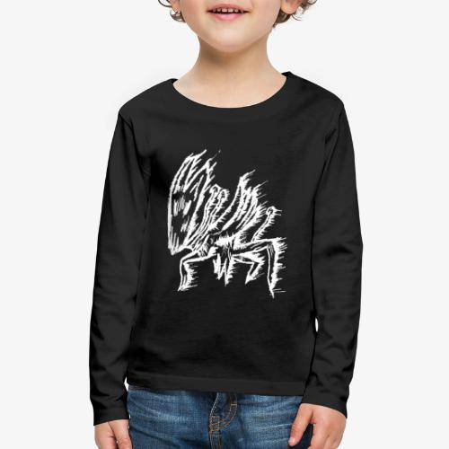 mushroom inv - Kids' Premium Long Sleeve T-Shirt