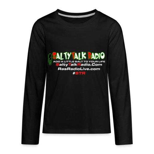 str back png - Kids' Premium Long Sleeve T-Shirt