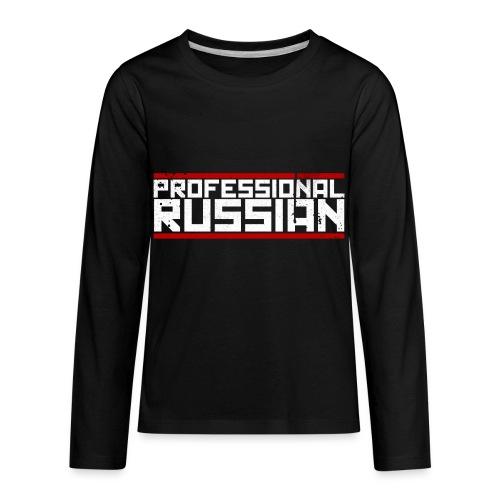 FPS Russia Logo MP Long Sleeve Shirts - Kids' Premium Long Sleeve T-Shirt