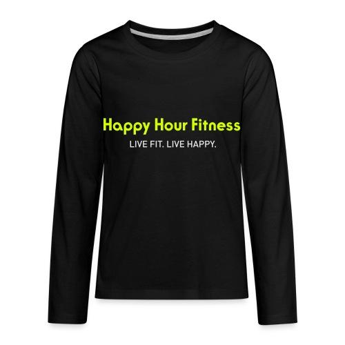 HHF_logotypeandtag - Kids' Premium Long Sleeve T-Shirt