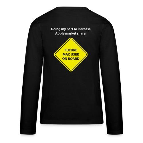 macuseronboard - Kids' Premium Long Sleeve T-Shirt