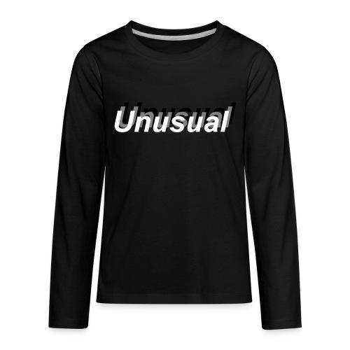 normal shadow unusual - Kids' Premium Long Sleeve T-Shirt