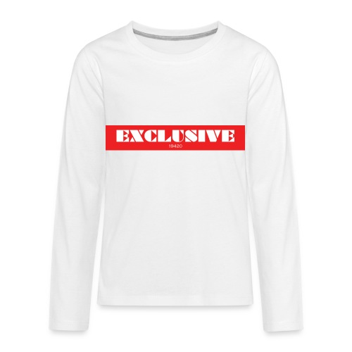 exclusive - Kids' Premium Long Sleeve T-Shirt