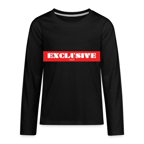 exclusive - Kids' Premium Long Sleeve T-Shirt